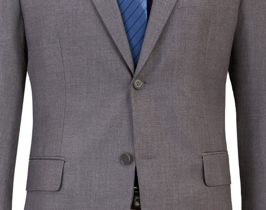 When wearing a suit jacket, always keep the bottom button of a 2 or 3 button suit jacket unbuttoned. Same rule applies for            blazers and sport coats. Also, fully unbutton your suit before sitting down. This prevents wrinkles and prolongs            the life of your buttons and jacket wear.