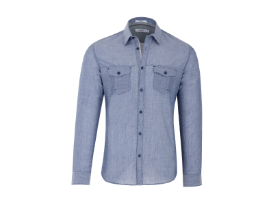 Shop this Calvin Klein Slim Fit Chambray Shirt only $34.99
