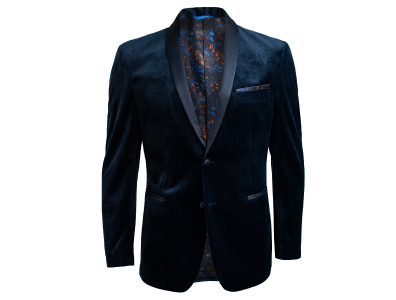 Shop this Navy Velvet Blazer only $59.99