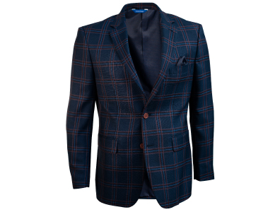 Shop this Navy Windowpane Check Blazer only $59.99