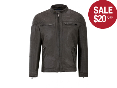 Shop this Vegan Leather Moto now only $49.99