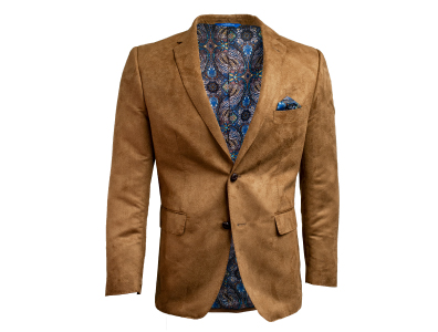 Shop this Tan Microsuede Blazer only $59.99