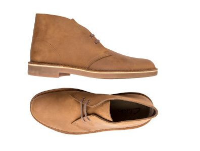 Shop these Clarks Bushacre Desert Suede Chukka Boots only $69.99