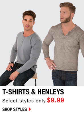 Shop Tshirts only $9.99