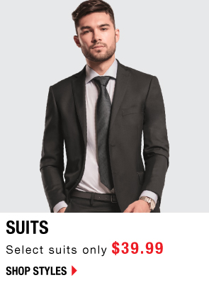 Shop Suits only $39!