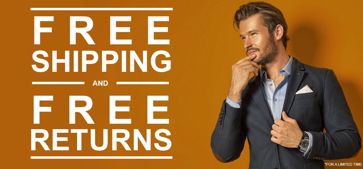 Free Shipping / Free Returns- Save More!