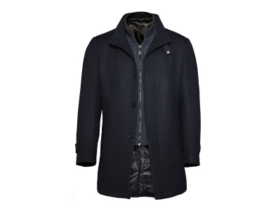 Shop this Cosani High Collar Topcoat w/Removable Vest only $79.99
