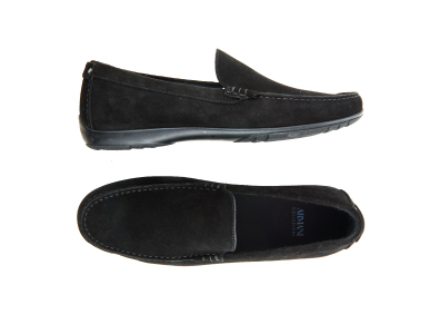 Shop these Armani Suede Loafers only $149.99