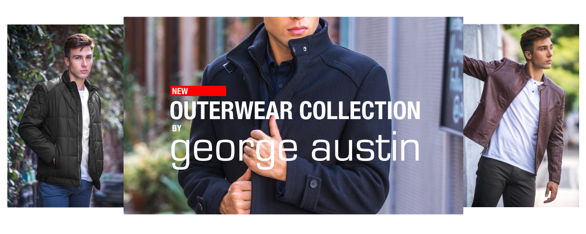 Shop the New Outerwear Collectionby George Austin!
