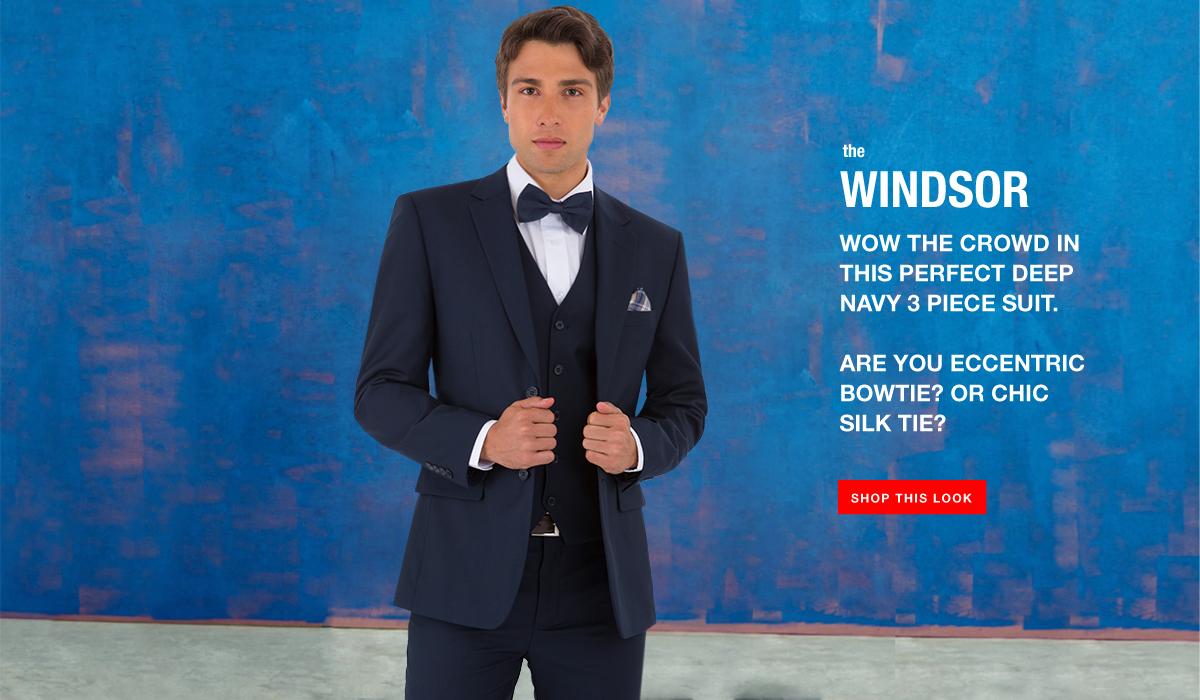 The Windsor - 3 Piece Suit Look