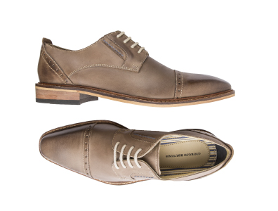 Shop these Geiorgio Brutini Leather Cap Toe Oxfords only $59.99