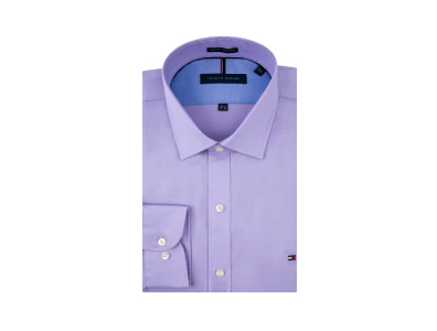 Shop this Tommy Hilfiger Slim Fit Pin Point Shirt only $39.99