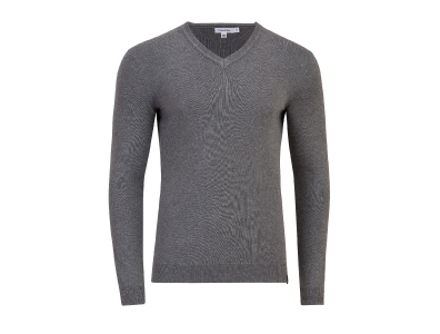 Shop this Clavin Klein Cotton V-Neck Sweater only $29.99